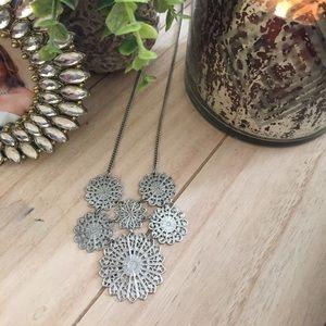 American Eagle Silver Tone Necklace